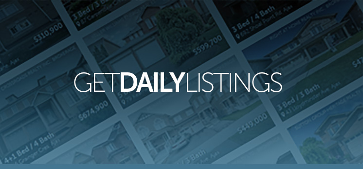 Get Listings in Your Inbox Every Morning
